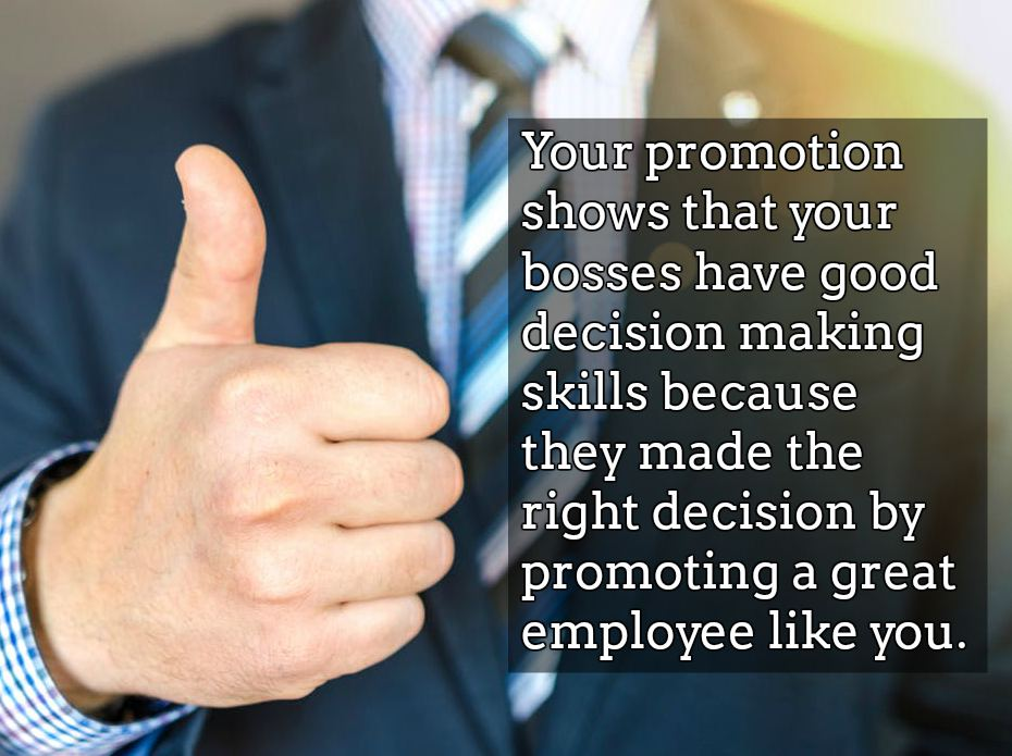 Congratulation For Job Promotion Quotes, Wishes, Messages